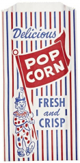 Popcorn Bag, Clown, 1000ct
