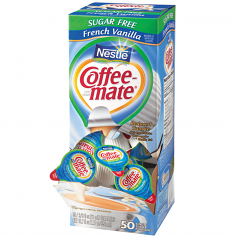 Coffee-Mate Sugar Free French Vanilla 200ct