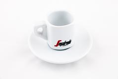 Segafredo Espresso Cup and Saucer