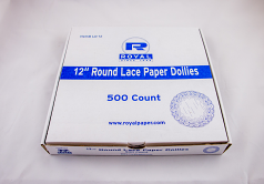 Round Paper Lace Doilies 500ct