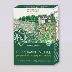 Four Elements Peppermint Nettle Tea