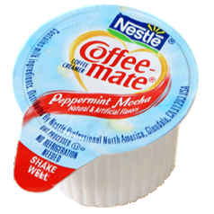 Coffee-Mate Pepp/Mocha Creamer 4/50ct