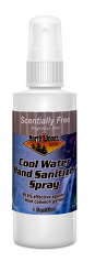 Cool Water Scent Free Hand Sanitizer 2oz