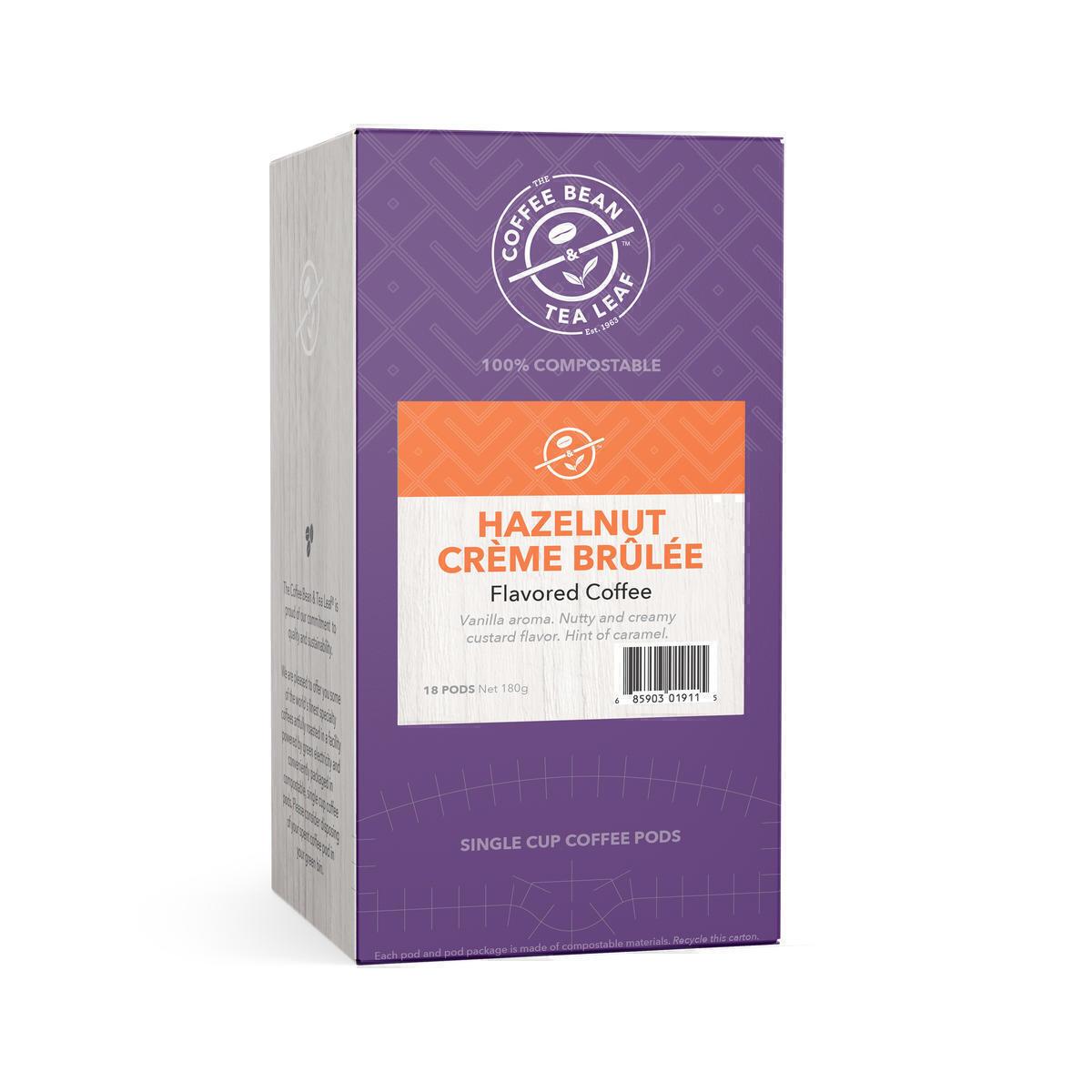 Coffee Bean & Tea Leaf Hazelnut Creme Brulee POD