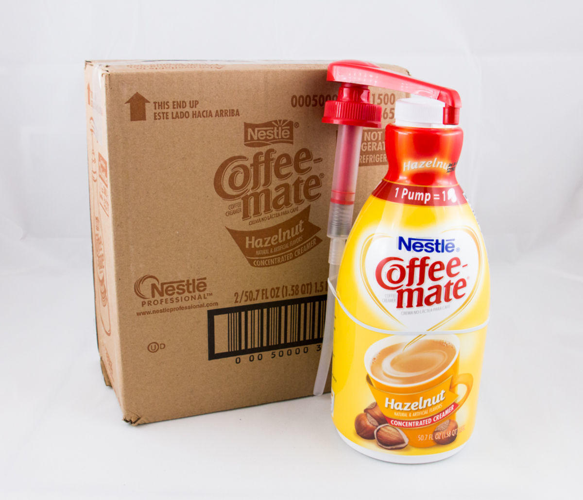 Coffee-Mate® Hazelnut Pump