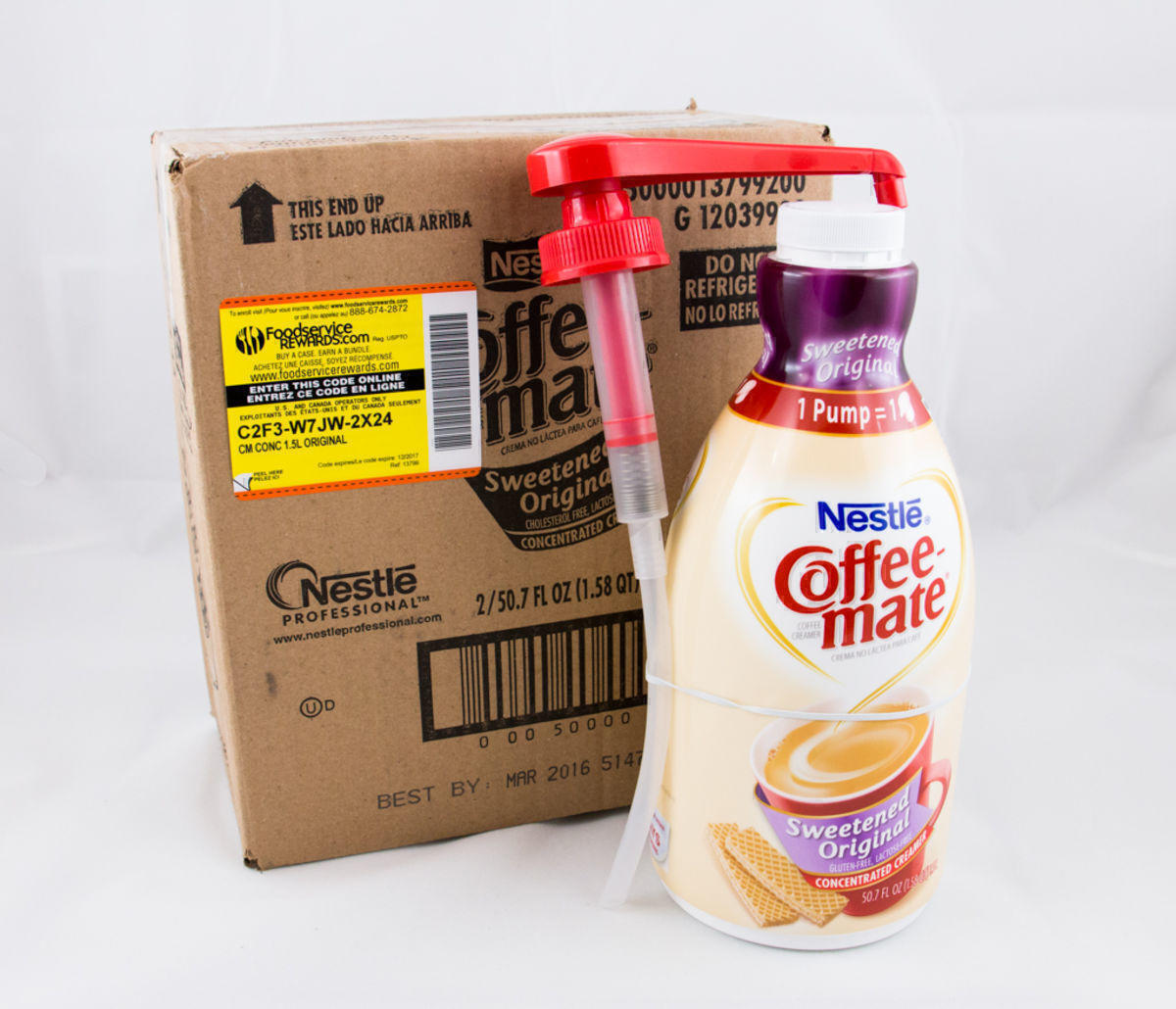 Coffee-Mate® Sweetened Original Pump