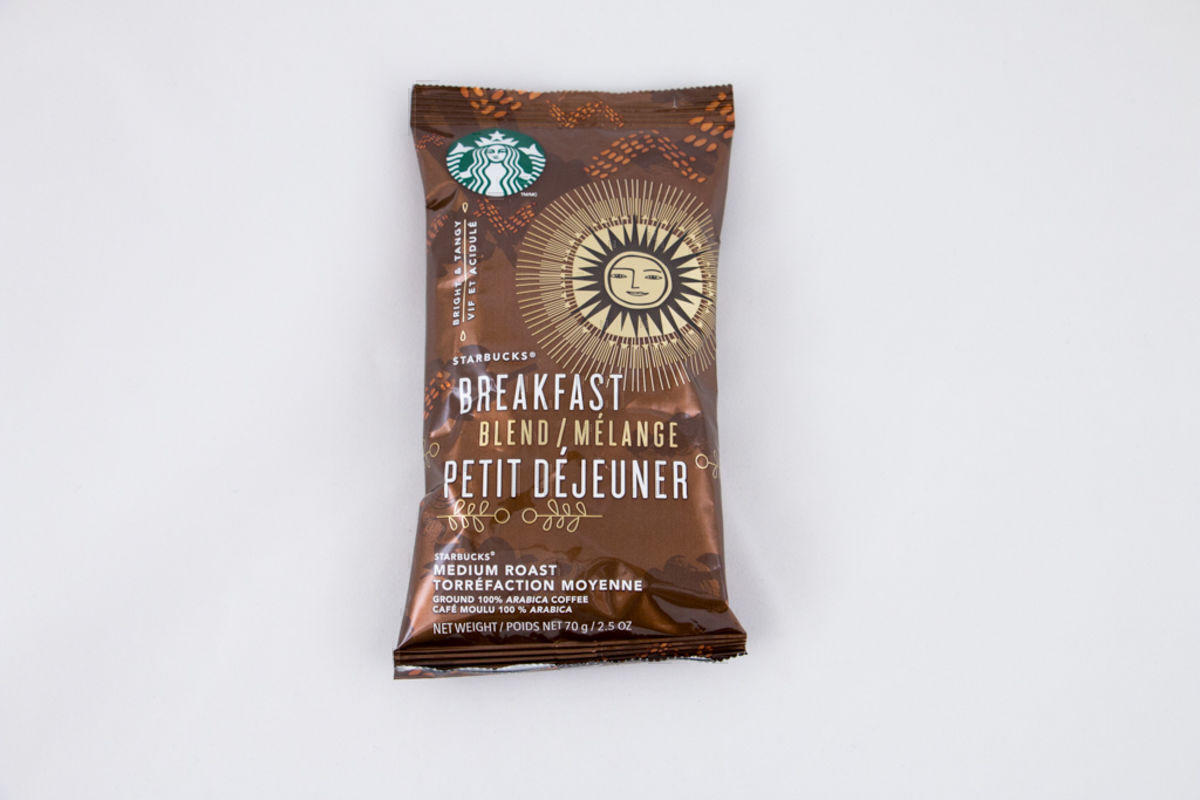 Starbucks Breakfast Blend 2.5oz