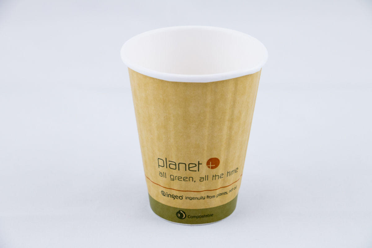 Planet Double Wall 12oz Compostable Cup