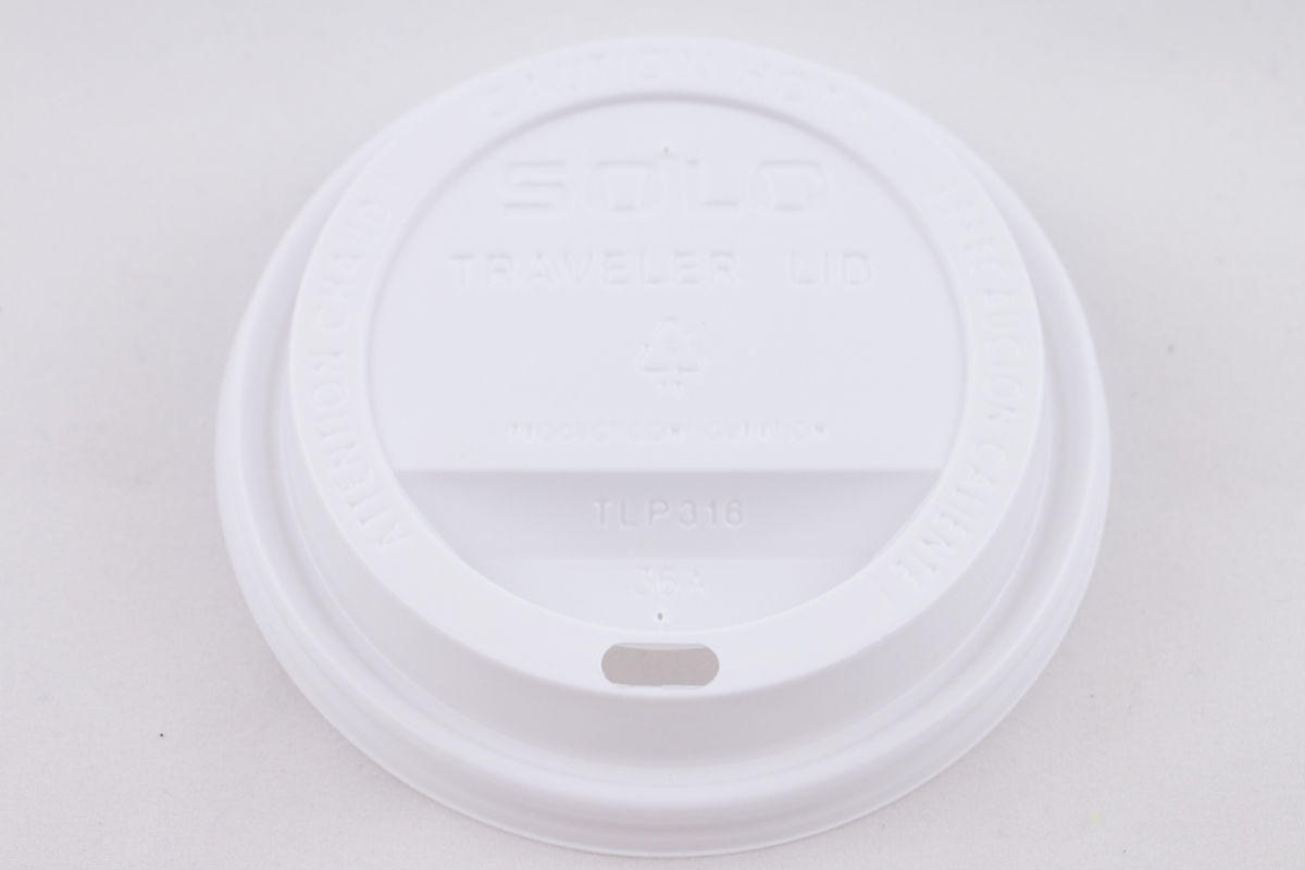 Solo Hot Lid for 12oz & 16oz Cups