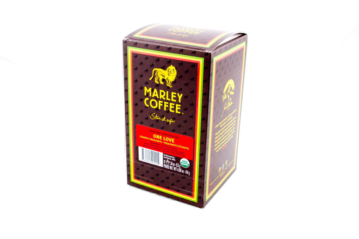 Marley One Love Coffee POD