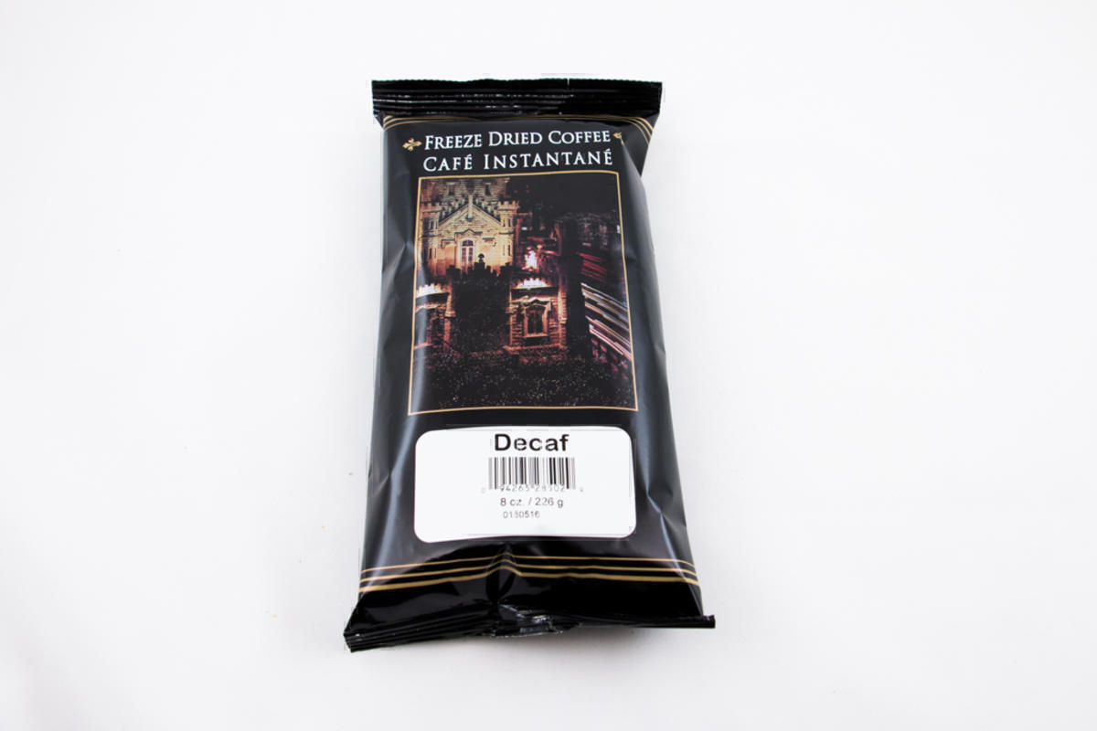 Colombian Decaf Freeze Dried Instant Coffee