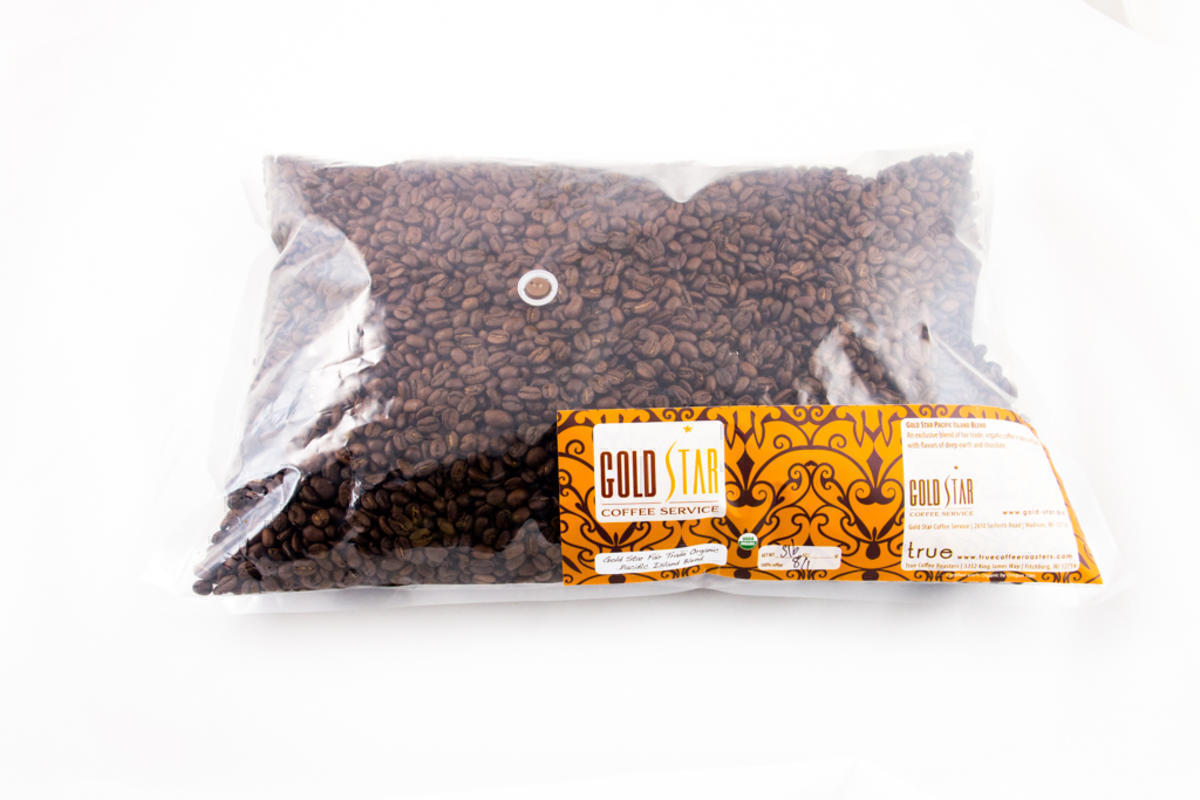 Gold Star Pacific Island Blend 5lb Whole Bean