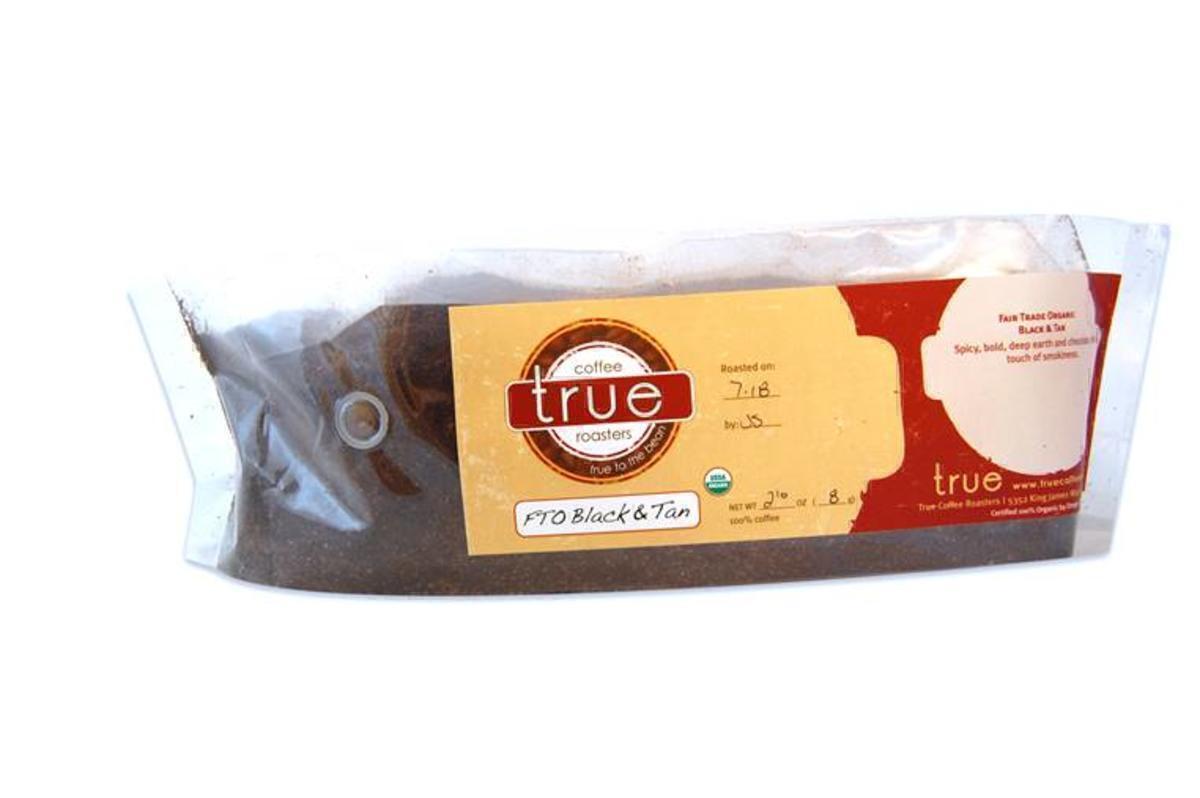True Coffee Black & Tan 2lb