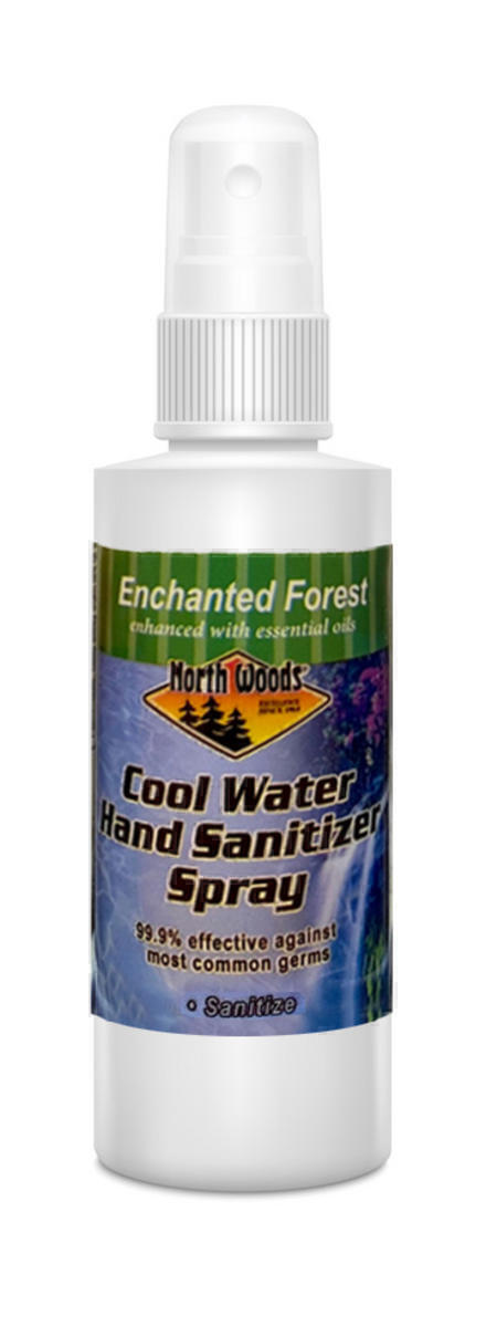 Cool Water Scented Hand Sanitizer 2oz