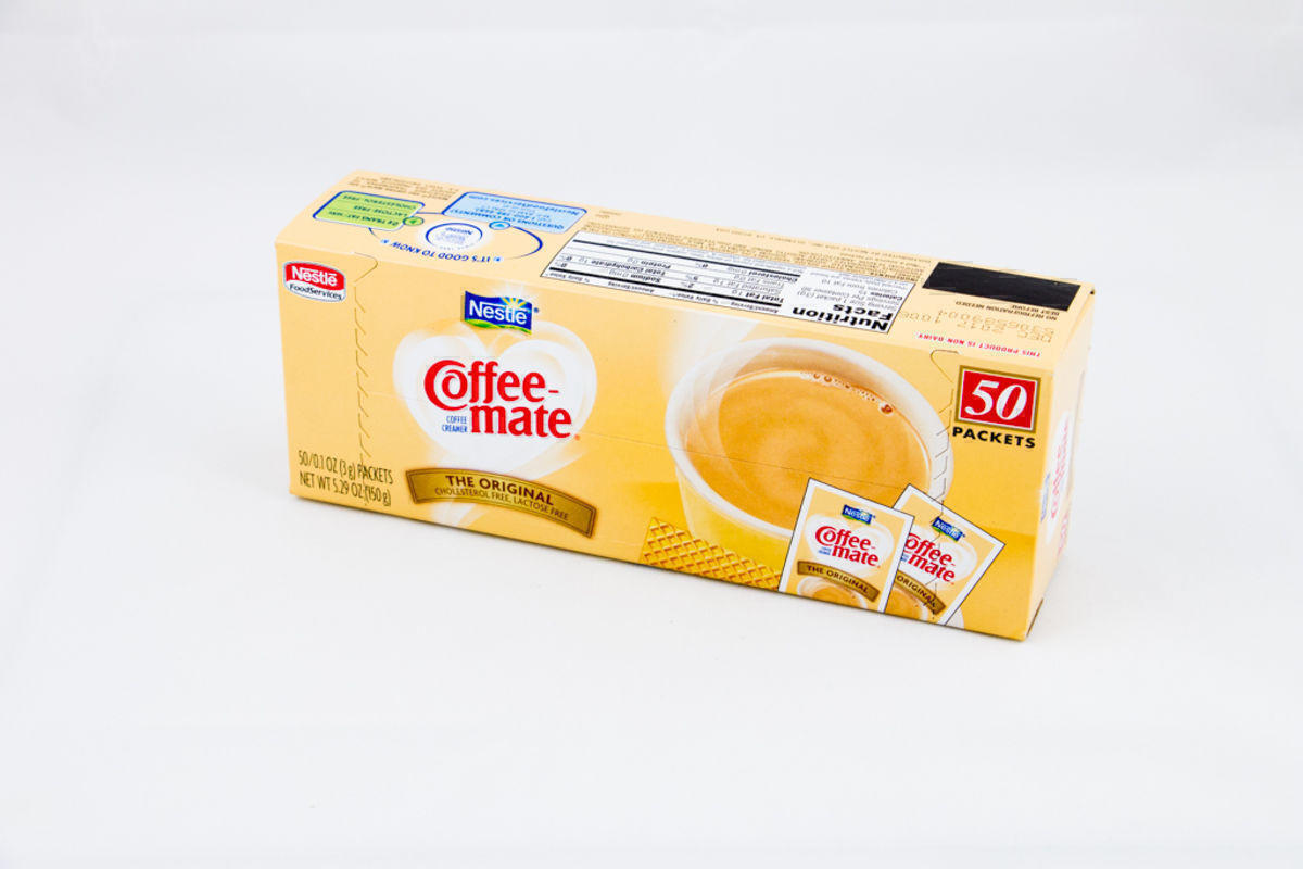 Coffee-Mate Cream Packets 50ct