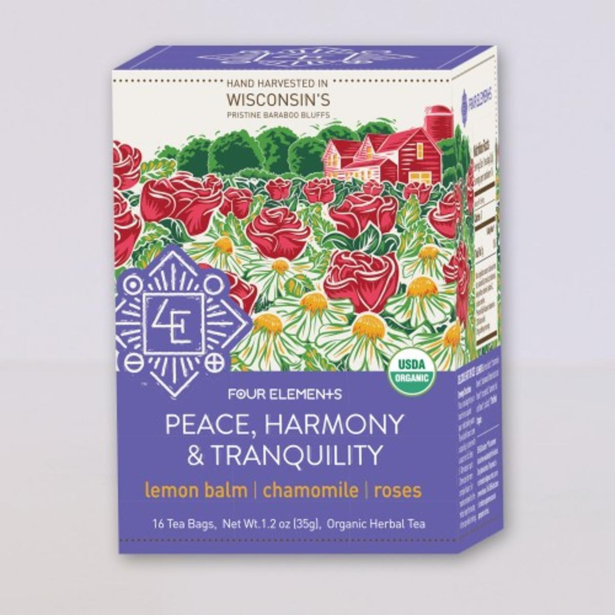 Four Elements Peace, Harmony & tranquilty Tea