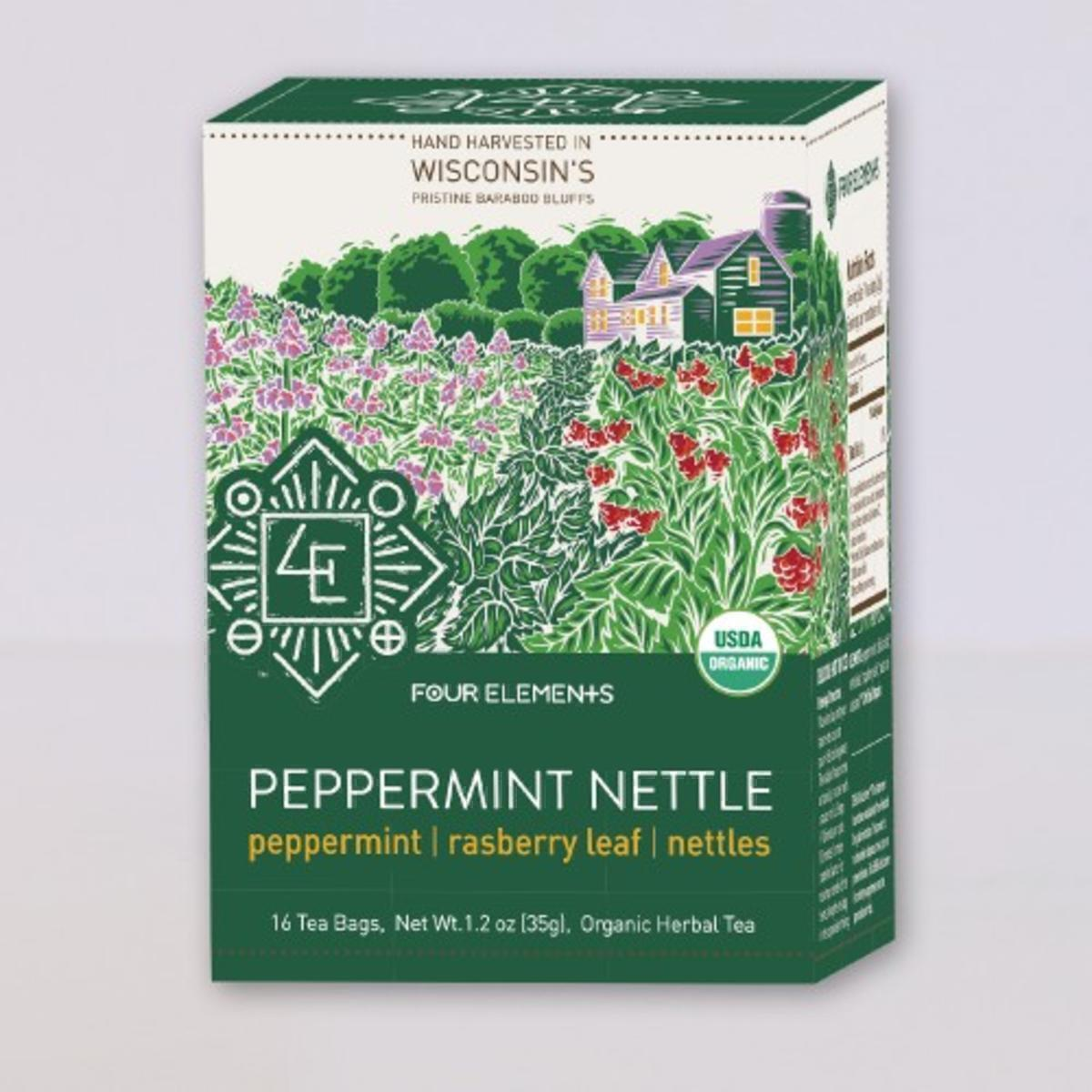 Four Elements Peppermint Nettle Tea