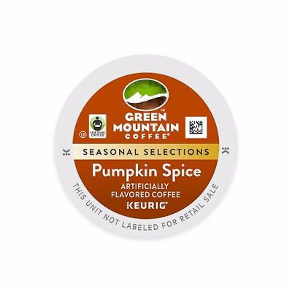 Pumpkin Spice Kcup