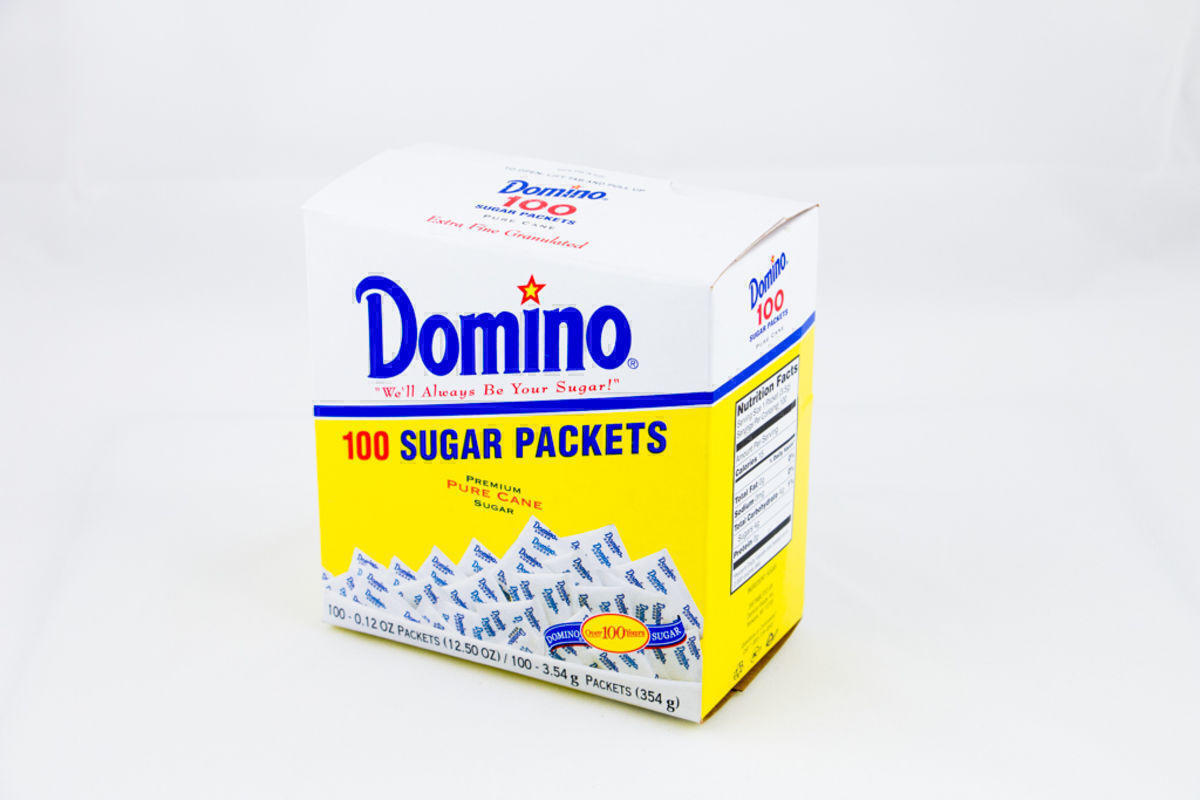 Domino Sugar Packets 100ct