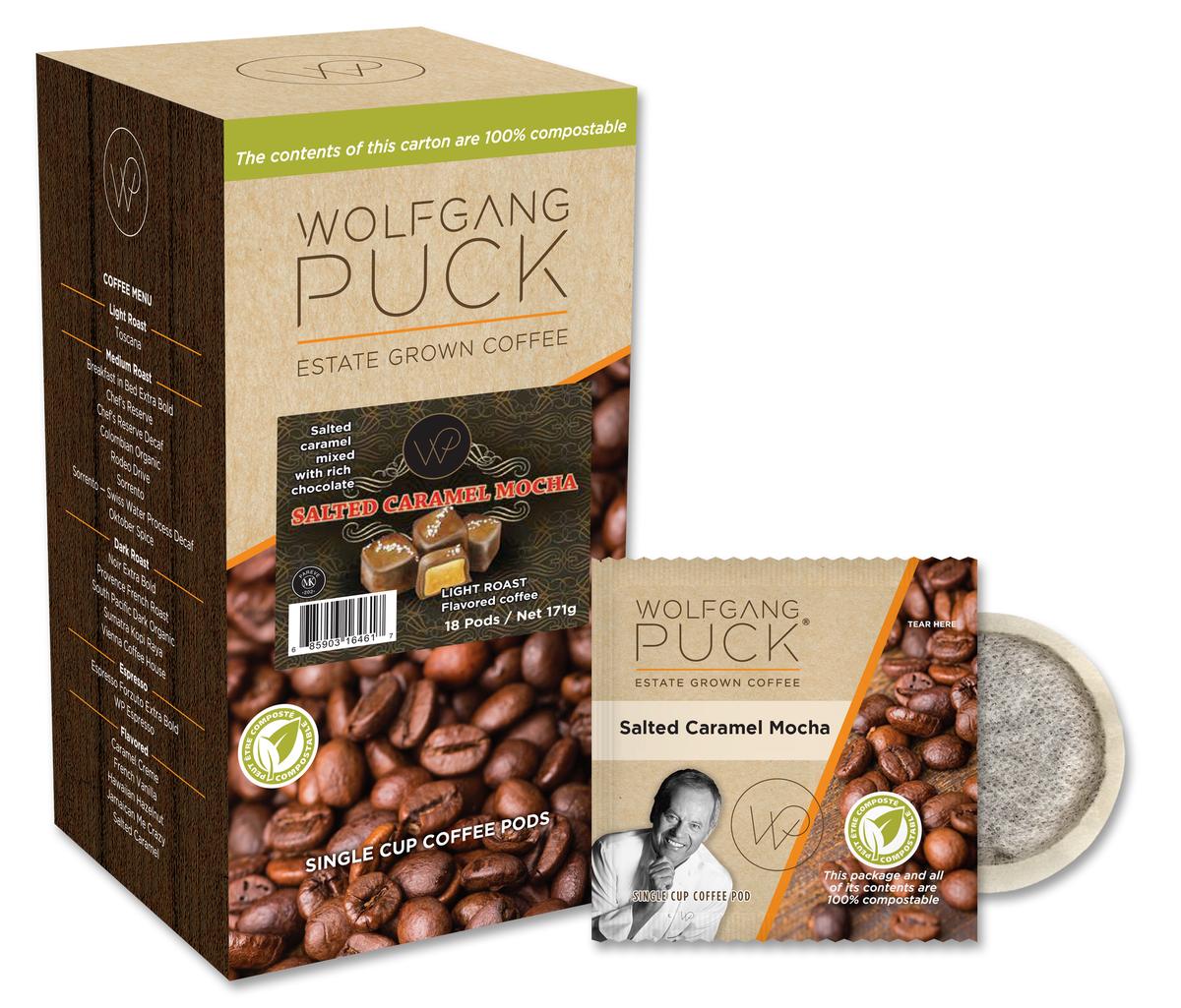 Wolfgang Puck Salted Caramel Mocha POD