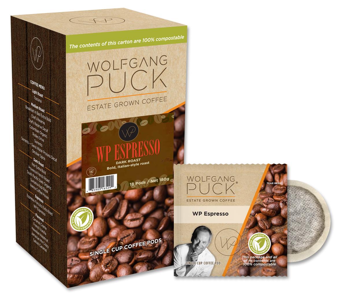 Wolfgang Puck Espresso Pod Coffee