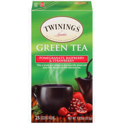 Twining Green Pomegranate, Raspberry & Strawberry