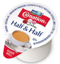 Carnation Half & Half Cream