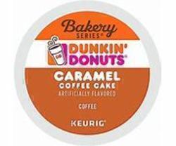 Dunkin Caramel Coffee Cake Kcup