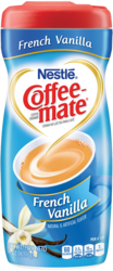 Coffee-Mate French Vanilla Canister