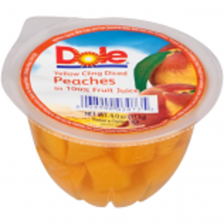 Dole Fruit Bowl Sliced Peaches