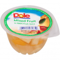 Dole Fruit Bowl Mixed Fruit