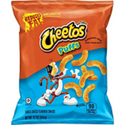 Cheetos Puffs WG Reduced Fat